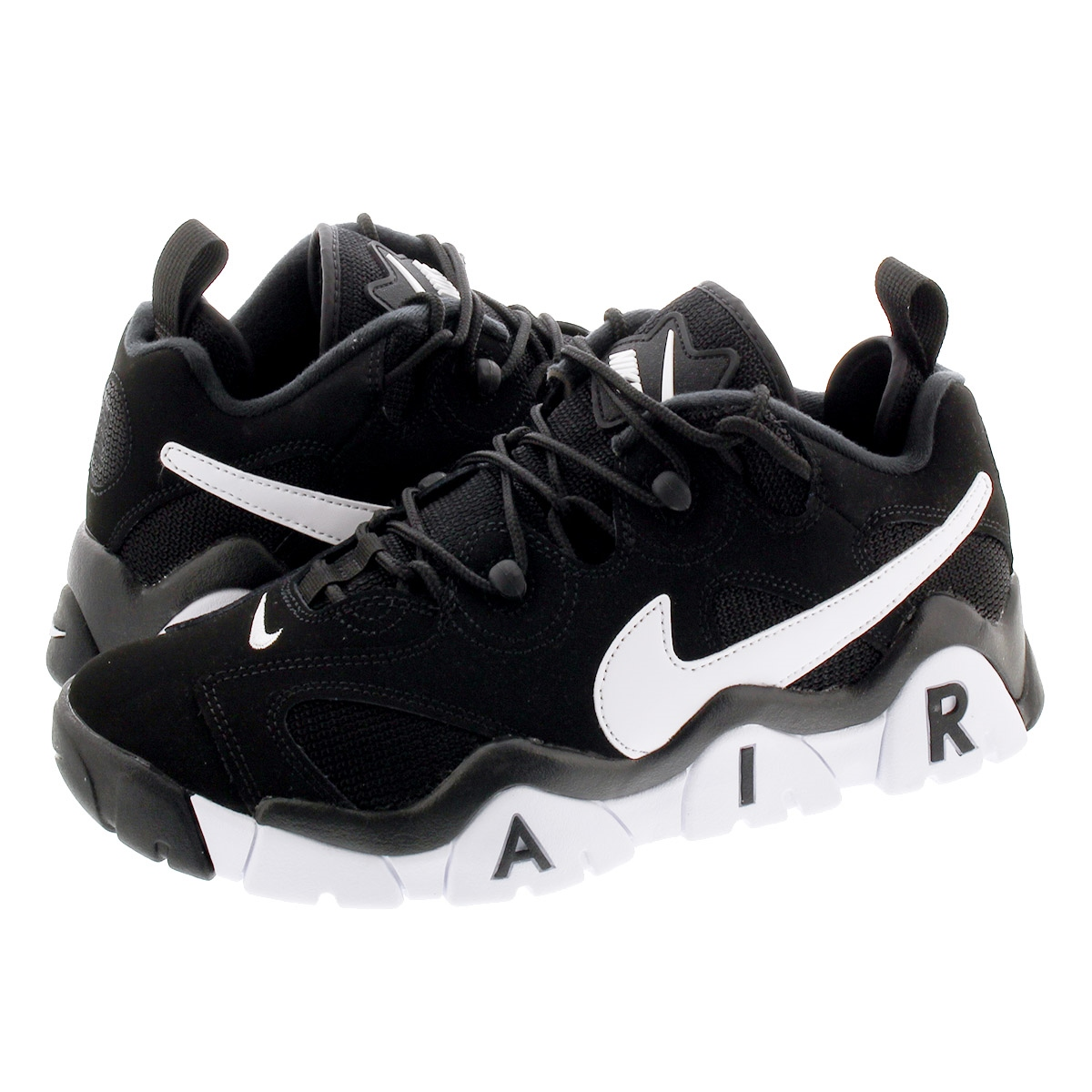 NIKE AIR BARRAGE LOW ナイキ エア バラージ ロー BLACK/WHITE cd7510-001