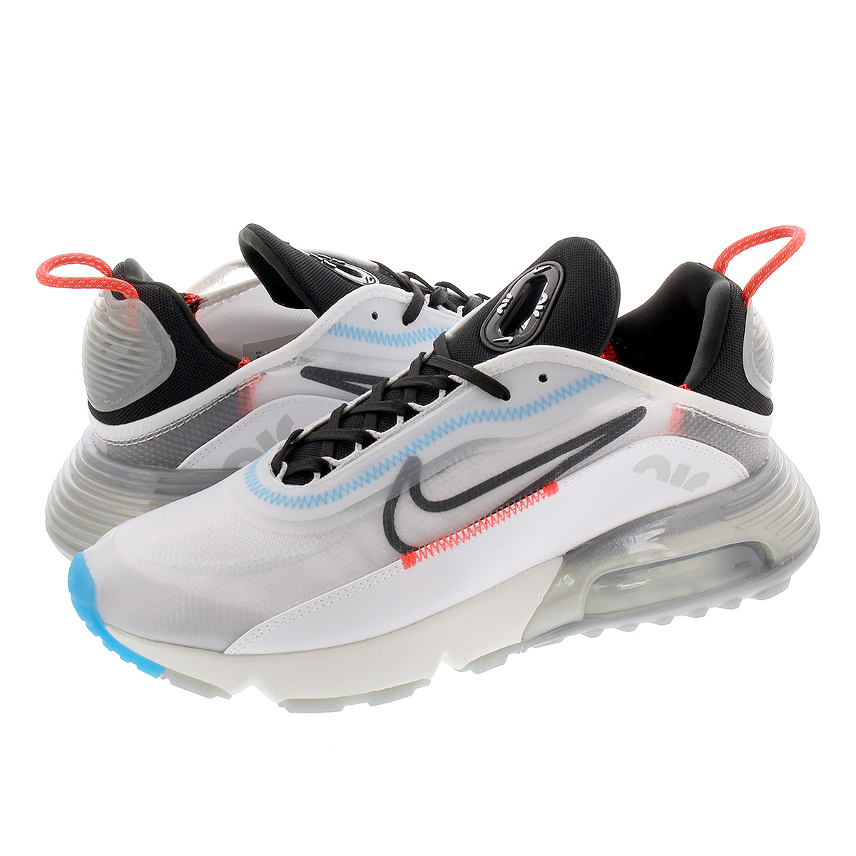 NIKE AIR MAX 2090 ナイキ エア マックス 2090 WHITE/BLACK/PURE PLATINUM/BRIGHT CRIMSON ct7695-100
