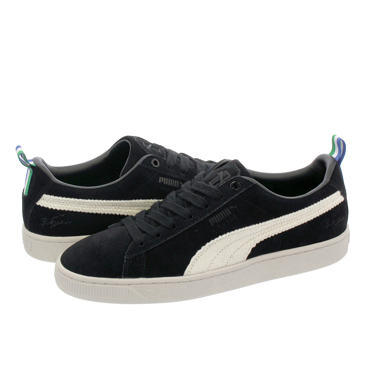 Puma Footwear : Big Sean Suede, BlackWhite