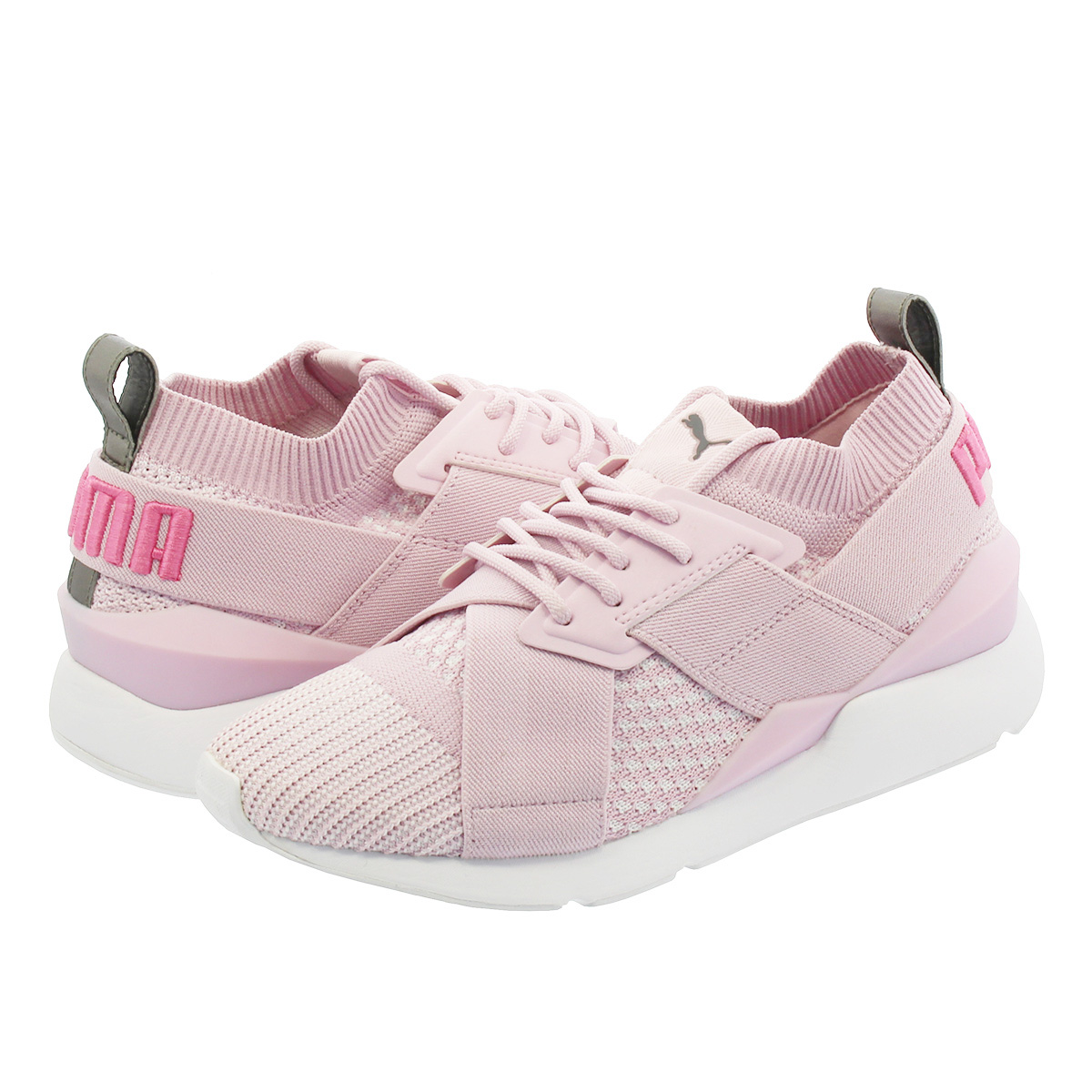 PUMA MUSE EVOKNIT WMNS プーマ ミューズ エヴォニット ウィメンズ WINSOME ORCHID/WINSOME ORCHID 365536-07