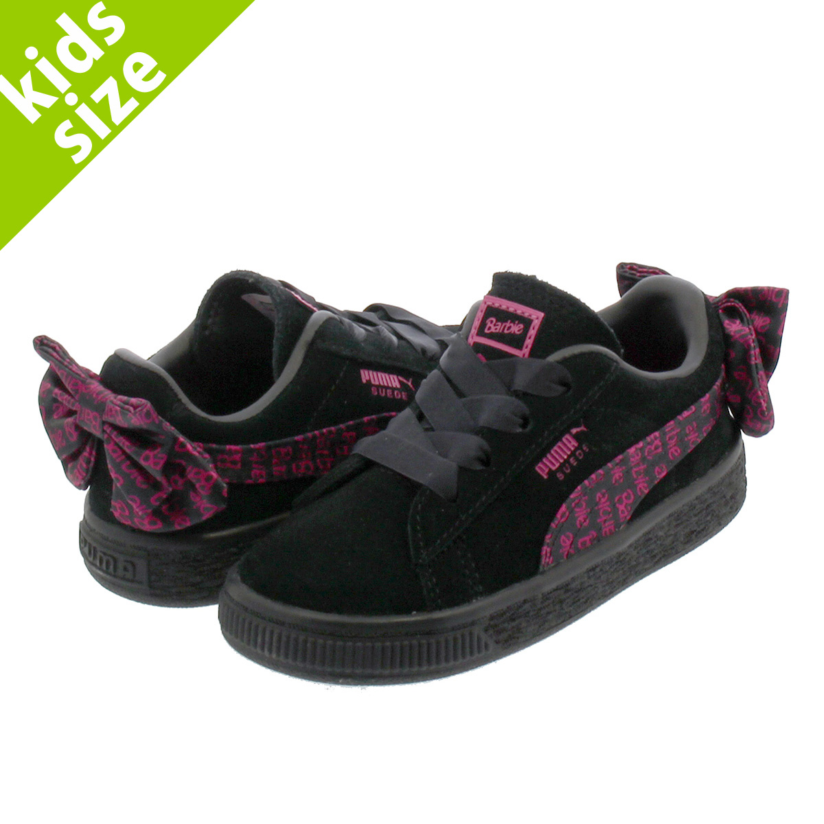 6b256c01a75 PUMA SUEDE CLASSIC X BARBIENODOLL I Puma suede cloth classical music Barbie  PUMA BLACK 366