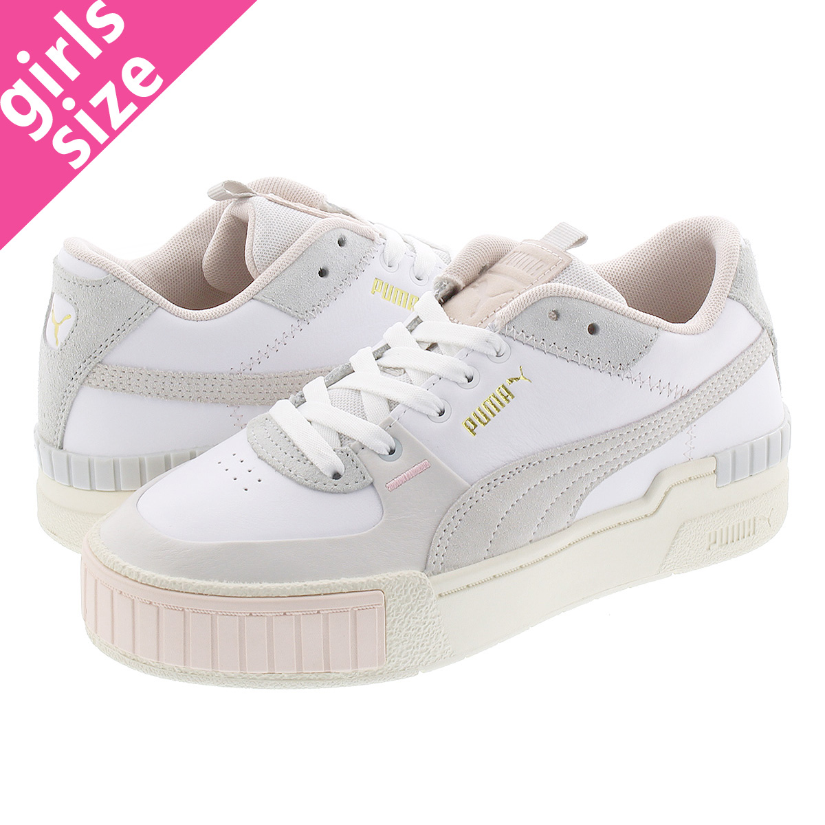 CALI SPORT MIX SNEAKERS COLOR WHITE