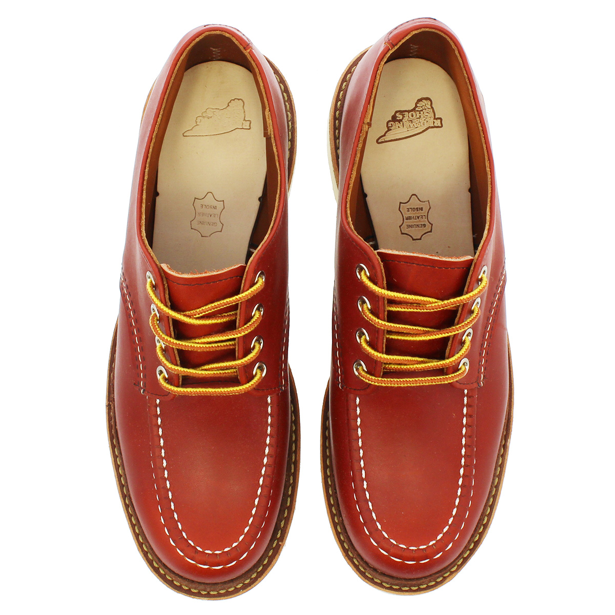 RED WING WORK OXFORD MOC TOE 【Dワイズ】 レッドウイング ワーク オックスフォード モック トゥ ORO RUSSET PORTAGE