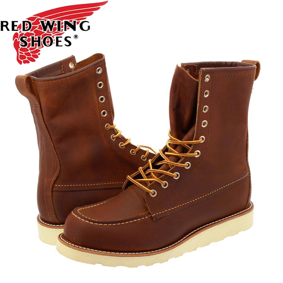 RED WING 8INCH CLASSIC MOC TOE レッドウィング 8インチ クラシック モックトゥ BROWN