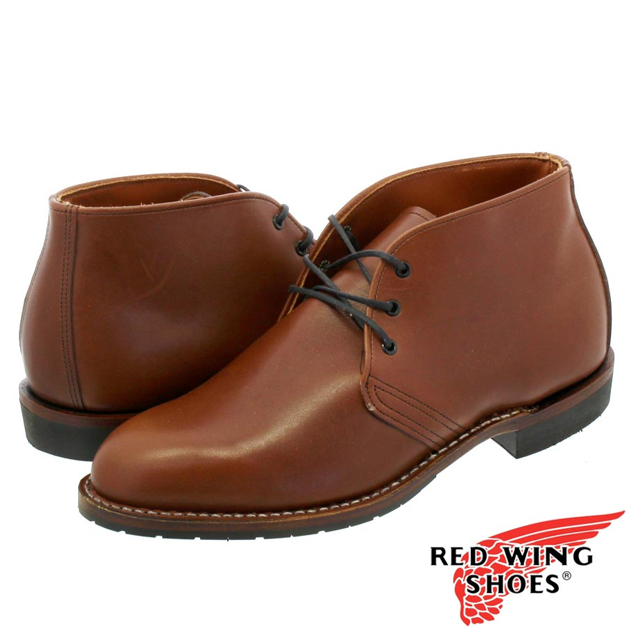 RED WING BECKMAN CHUKKA BOOT 【Dワイズ】 レッドウイング ベックマン チャッカ ブーツ BROWN