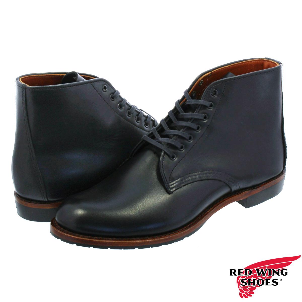 RED WING SHELDON BLACK FEATHERSTONE LEATHER 【Dワイズ】 レッドウイング シェルドン BLACK rw-9071