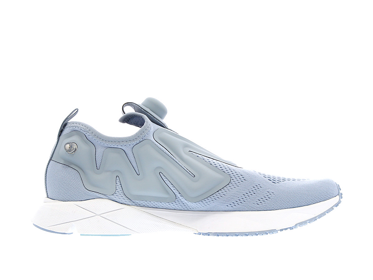 Reebok PUMP PLUS SUPREME ENGINE ribokkupompupurasushupurimuenjin GABLE GREY/WHITE/WHITE