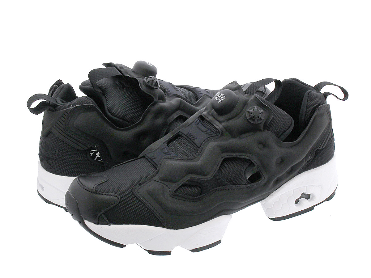 SELECT SHOP LOWTEX  Reebok INSTA PUMP FURY OG リーボックインスタポンプフューリー OG BLACK  WHITE  5dbfb00bc5