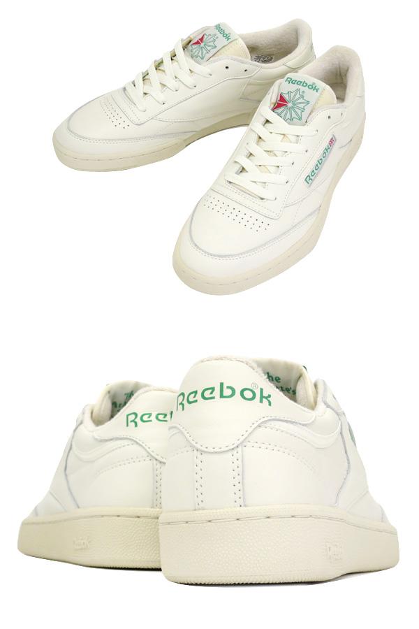 Reebok CLUB C 85 VINTAGE锐步俱乐部C 85复古WHITE/GREEN