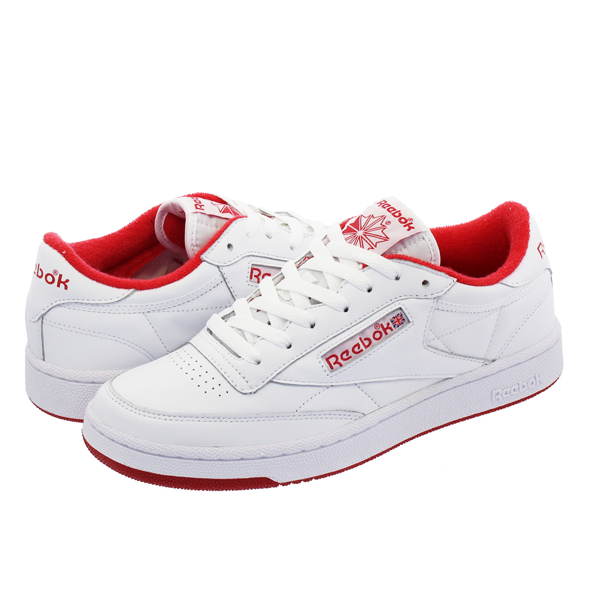 eae8970c04154b Reebok CLUB C 85 ARCHIVE Reebok club C 85 ARCHIVE WHITE EXCELLENT RED cn3711