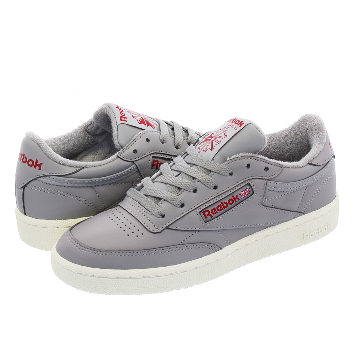 03516e221c12 Reebok CLUB C 85 VINTAGE Reebok club C 85 vintage SOLID GREY POWER  RED CHALK cn5374