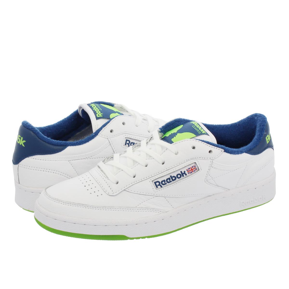 Reebok CLUB C 85 BRONZE リーボック クラブ C 85 ブロンズ NOBLE BLUE/GREEN/WHITE dv4822