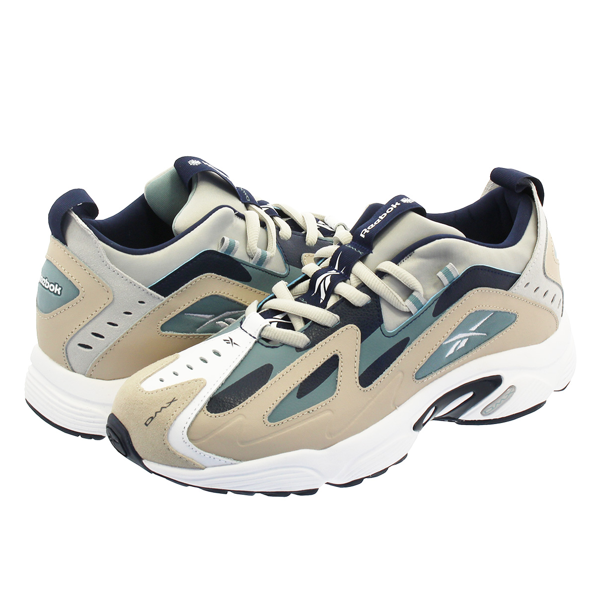SELECT SHOP LOWTEX  Reebok DMX SERIES 1200 Reebok DMX series 1200 LIGHT  SAND TEAL FOG COLLEGE NAVY cn7588  45ac9d808