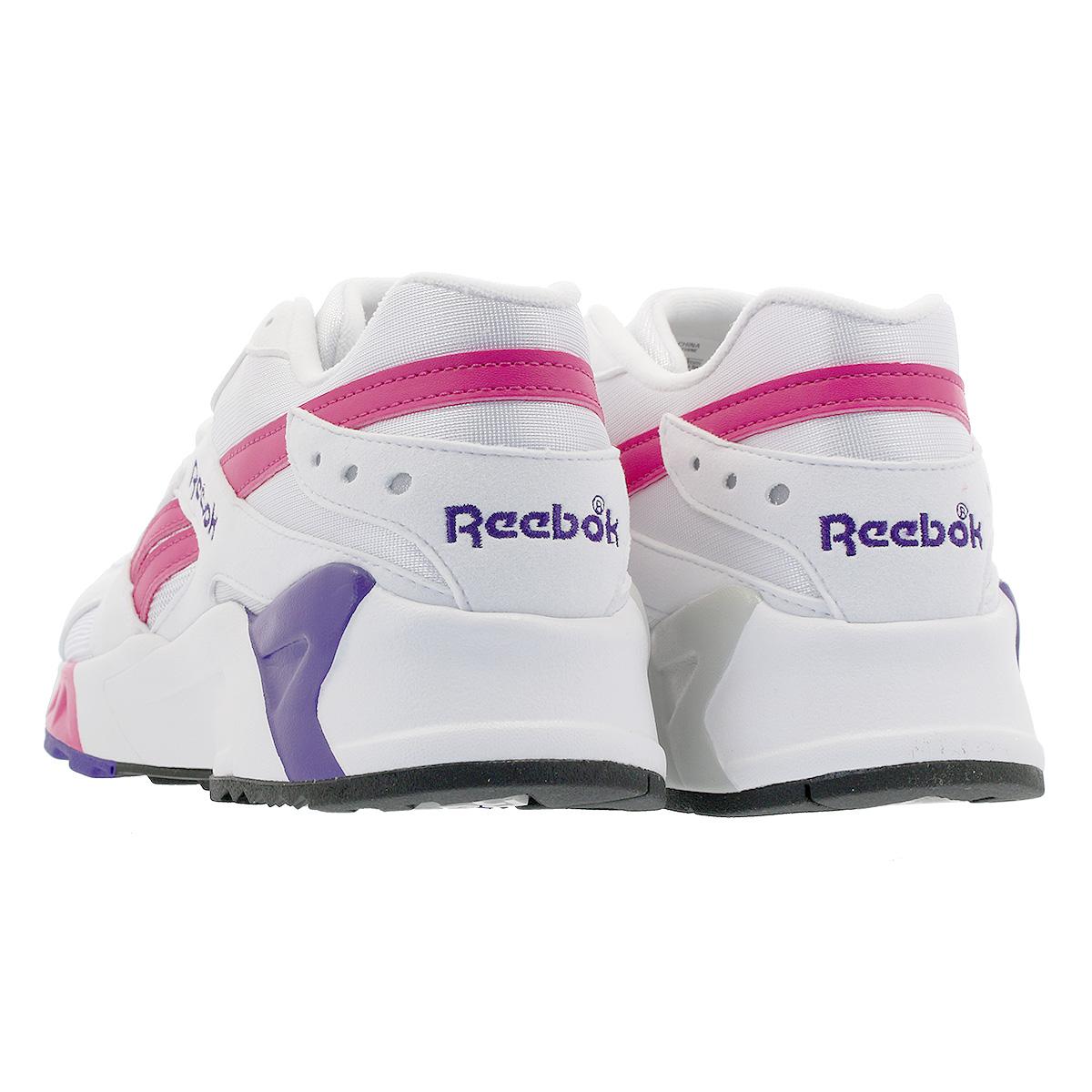 26e65f698631 Reebok AZTREK OG Reebok as trek Aussie WHITE BRIGHT ROSE COBALT PURPLE  cn7841