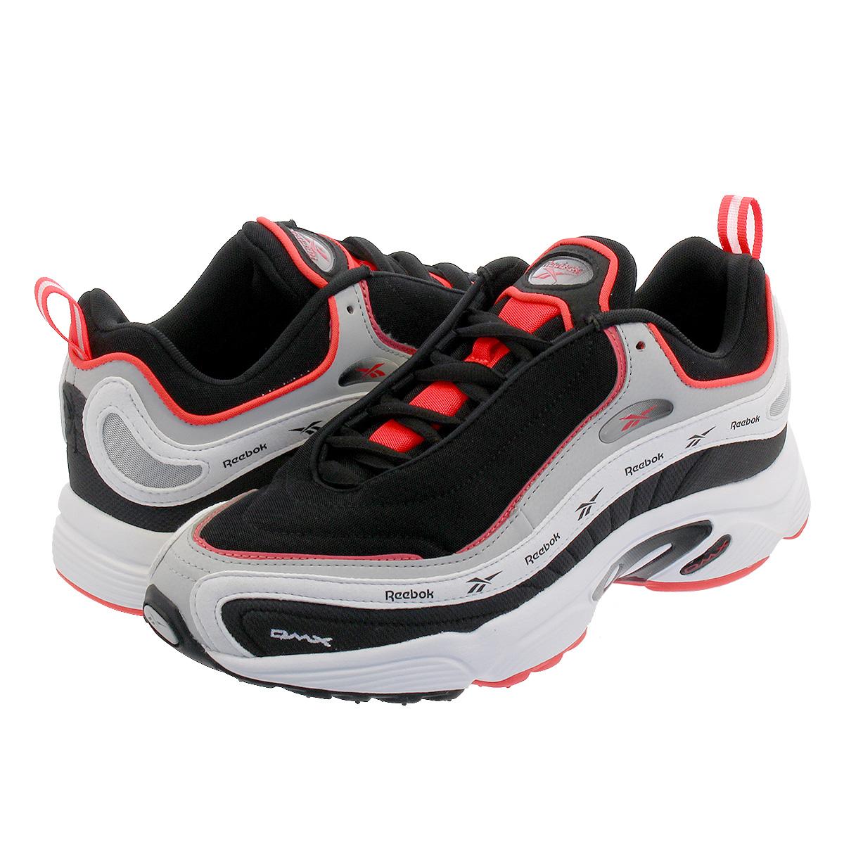 【お買い物マラソンSALE】 Reebok DAYTONA DMX VECTOR リーボック デイトナ DMX ベクター BLACK/SKULL GREY/WHITE/NEON RED dv3891