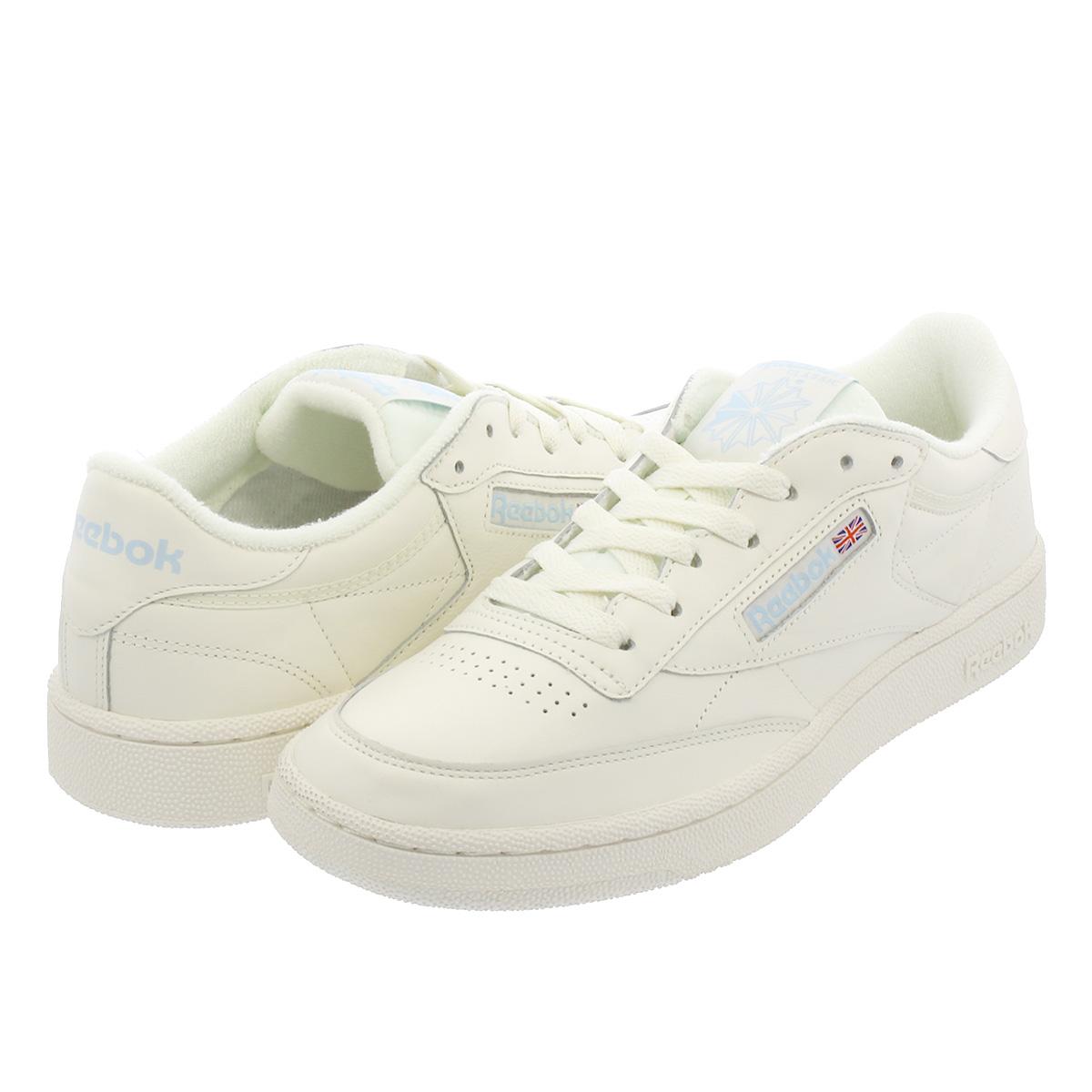Reebok Classic Club C 85 Vintage Shoes Beige White V69406 SZ 5 12.5 | eBay