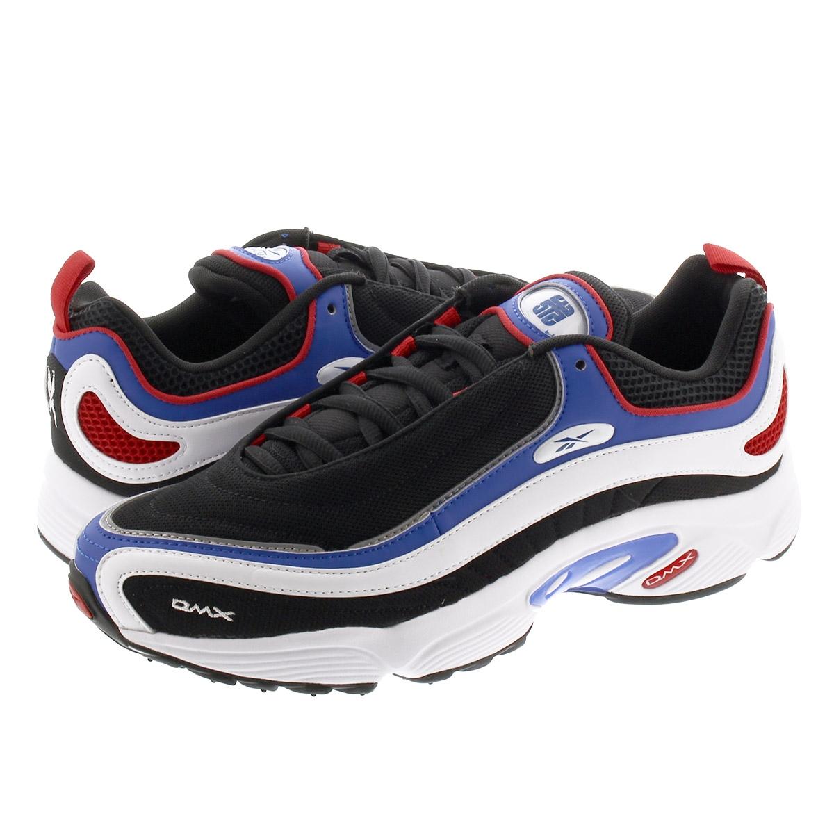 【お買い物マラソンSALE】 Reebok DAYTONA DMX MU リーボック デイトナ DMX 2MU BLACK/HUMBLE BLUE/SCARLET fv8241