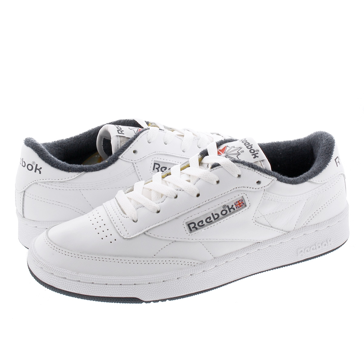 Reebok CLUB C 85 リーボック クラブ C 85 WHITE/WHITE/COLLEGE NAVY fx3433