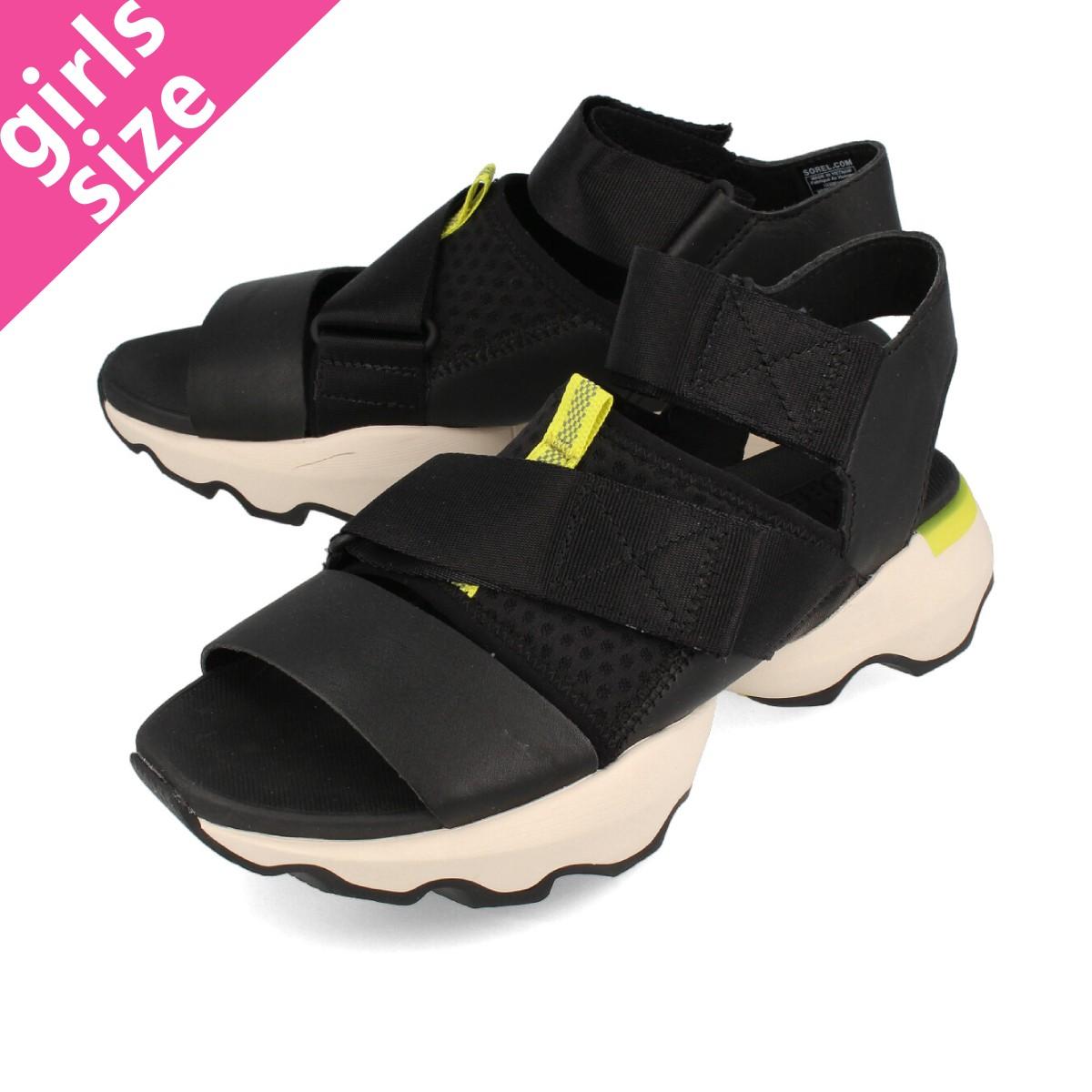 送料無料 SOREL ソレル サンダル 靴 レディース 公式通販 ブラック 黒 IMPACT BLACK インパクト SANDAL KINETIC nl4074-010 値引き キネティック