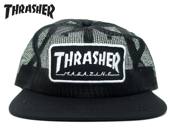 c95007c9864 SELECT SHOP LOWTEX  THRASHER MAGAZINE LOGO MESH slasher magazine ...