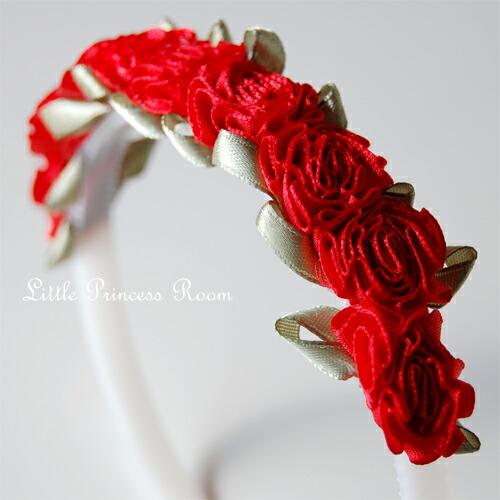 [リボンローズ headband Red: fs3gm10P10Nov13