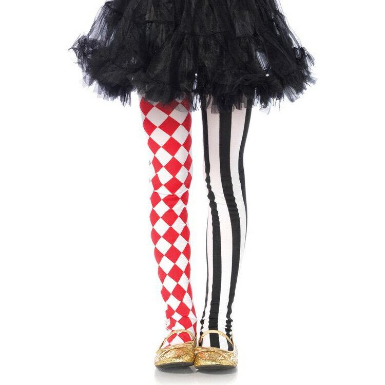 Leg Avenue Harlequin Check and Stripe Tights