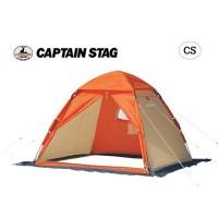 【送料無料】 CAPTAIN STAG ワカサギ釣り ワンタッチテント210(コンパクト)OR M-3131 【他商品との同梱不可】