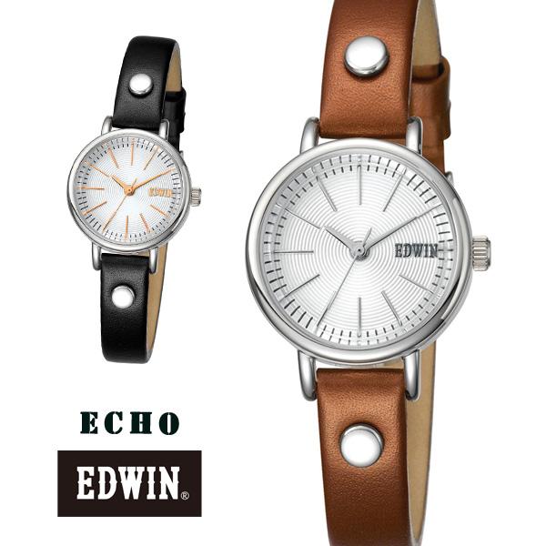 送料無料 EDWIN(エドウィン)ウォッチ腕時計ECHO4【レディース ブランド クロック ウォッチ ビジネス ジーンズ デニム 女性 プレゼント ギフト カジュアル 時計】父の日