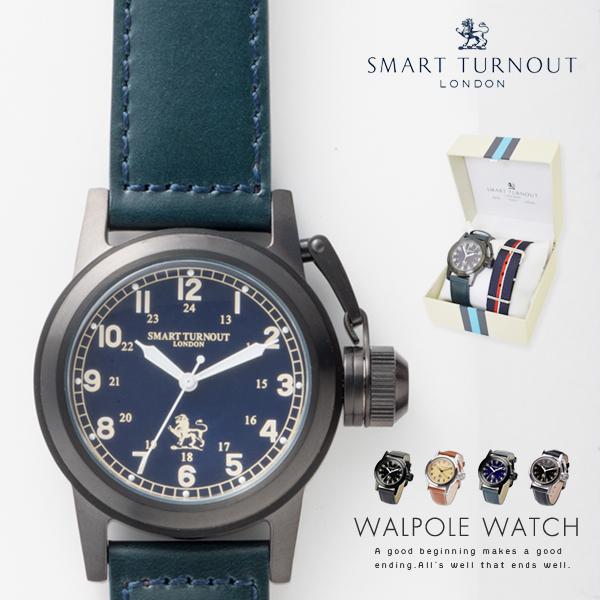 送料無料!SMARTTURNOUTスマートターンアウト腕時計 WALPOLEWATCH【セット アクセサリー メンズ レディース とけい ベルト ナイロン レザー プレゼント ギフト】新生活