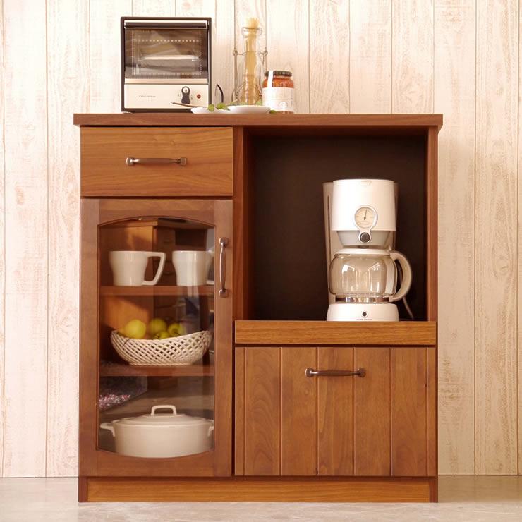 国産 日本製 80 カウンター おしゃれ 爆安 キッチンカウンター 棚 現品 完成品 収納 キッチン収納 食器棚 送料無料