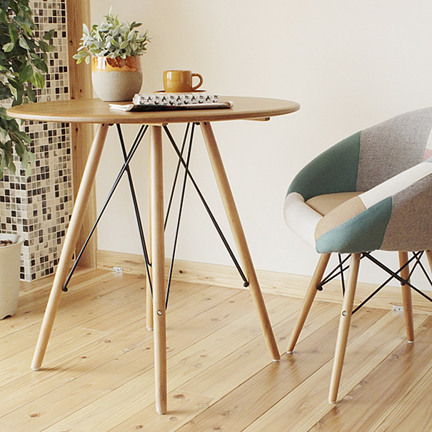Beau Made In Japan Japanese Alder Birch 75 Cm Width Cafe Table Center Table  Living Room Tables ...
