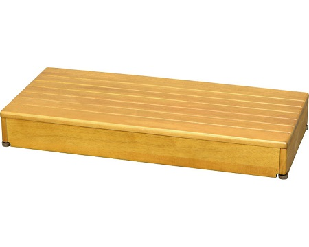木製玄関台 1段タイプ 90W-40-1段