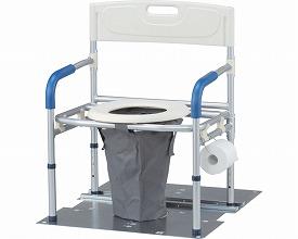 災害用マンホールトイレ 洋式ワイドタイプ 大型