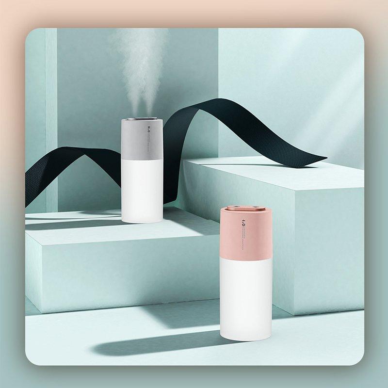 加湿器 期間限定お試し価格 アロマ 卓上加湿器 おしゃれ USB 充電式 車用 超音波式 花粉症対策 誕生日プレゼント オフィス LEDライト ダブルノズル