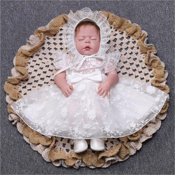 新生児 退院お祝 結婚式 子供服 new かわいい 赤ちゃん 出産祝い 子供ドレス 女の子 帽子付き ベビー服 ベビードレス お宮参り スカート 美品 ドレス 評判