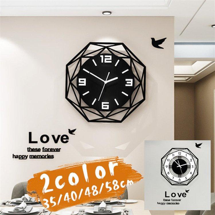 掛け時計 壁掛け時計 大人気壁掛け時計 往復送料無料 おしゃれ 実物 壁飾り 北欧 ジェネリック家具 レトロ クロック スプレッド 静音 壁掛け 時計 マグネット 乾電池