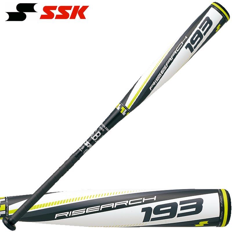 小学3~6年生向け(140~155cm) SSK 野球 子供用 少年軟式FRP製バット ライズアーチ193 SBB5024