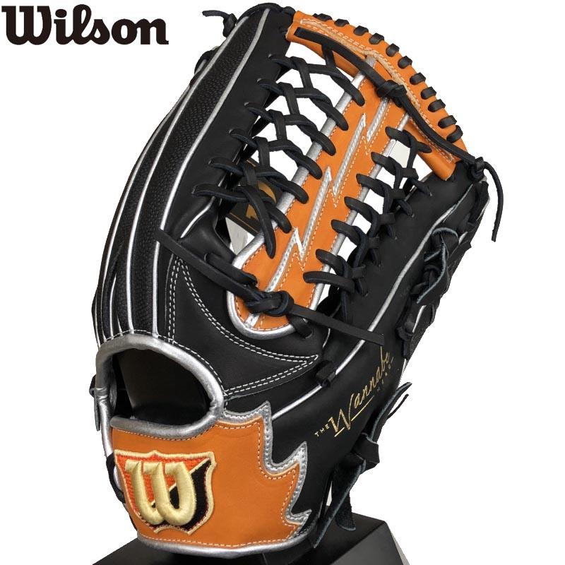 【あす楽対応】ウィルソン 野球 軟式グラブ グローブ 右投げ用 一般用 The Wannabe Hero DUAL 外野手用 size 12 中学生~大人用 WTARHSD8F-