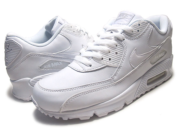 1eb550766e ... Among published by advantageous discount coupon! NIKE AIR MAX 90  LEATHER white/white oar ...