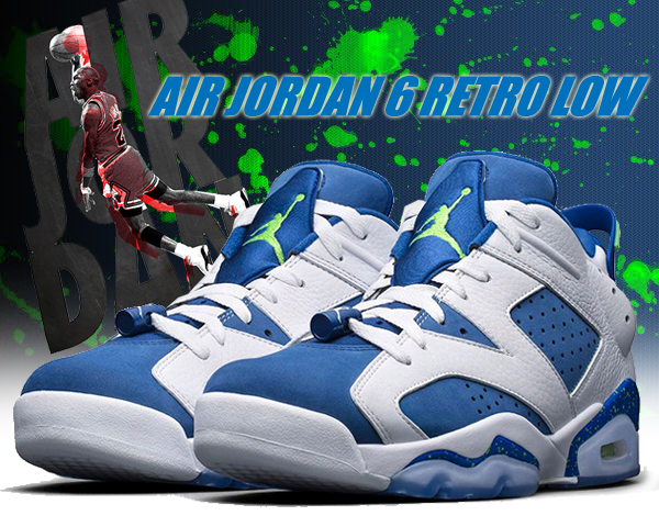 air jordan 6 retro bleu