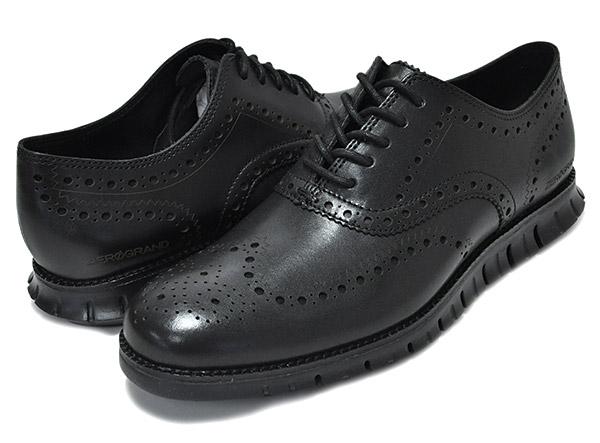 おすすめの革靴スニーカー08:コールハーンのゼログランド ウィング オックスフォードです。