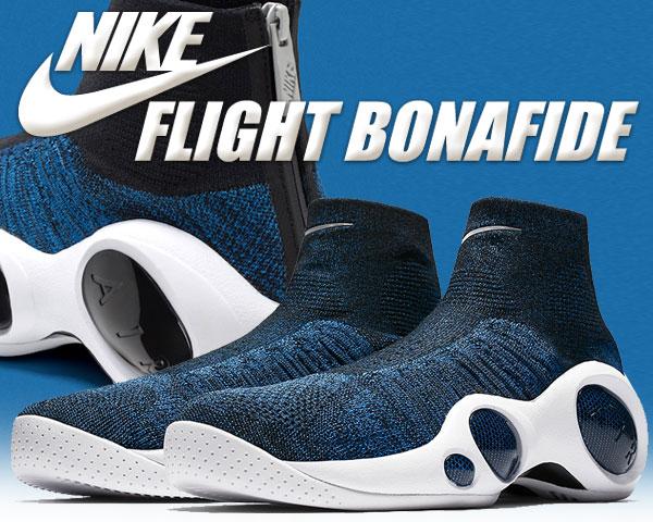 お得な割引クーポン発行中!!【あす楽 対応!!】【送料無料 ナイキ スニーカー フライト ボナファイド】NIKE FLIGHT BONAFIDE military blue/black-white