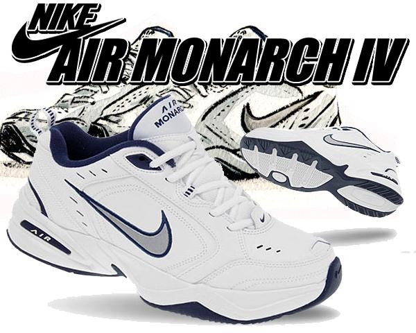 4 メタリックシルバー エア モナーク ホワイト/ 415445-102 NIKE AIR MONARCH IV WHITE/ METALLIC SILVER ナイキ ダッドシューズ