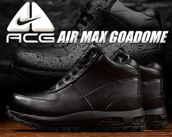 お得な割引クーポン発行中!!【あす楽 対応!!】【送料無料 ナイキ エアマックス ゴアドーム】NIKE AIR MAX GOADOME ACG black/black-blk