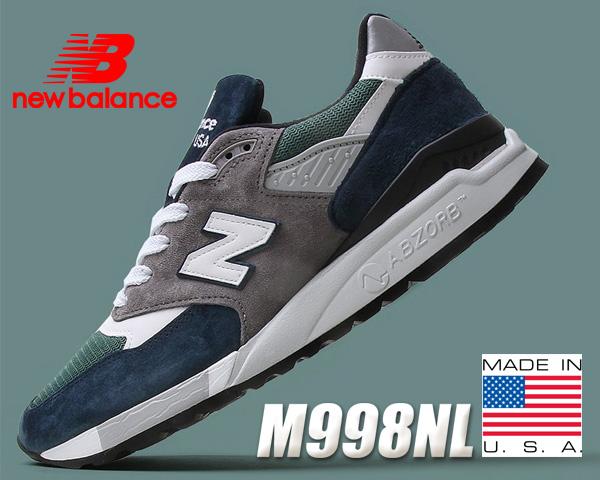 お得な割引クーポン発行中!!【送料無料 ニューバランス M998】NEW BALANCE M998NL MADE IN U.S.A.【スニーカー メンズ NB 998】