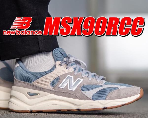 お得な割引クーポン発行中!!【あす楽 対応!!】【送料無料 ニューバランス MSX90】NEW BALANCE MSX90RCC【X-90 スニーカー NB 99X】