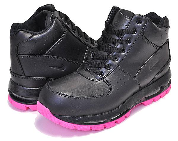 お得な割引クーポン発行中!!【送料無料 ナイキ エアマックス ゴアドーム GS】NIKE AIR MAX GOADOME(GS) black/black-hyper pink ACG レディース ガールズ サイズ スニーカー ブラック ピンク