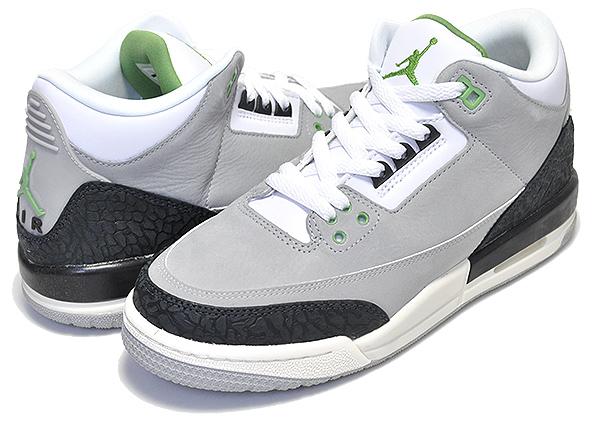 meet 5169c 5200b Among published by advantageous discount coupon! NIKE AIR JORDAN 3  RETRO(GS) TINKER lt smoke grey/chlorophyll women girls sneakers AJIII ...