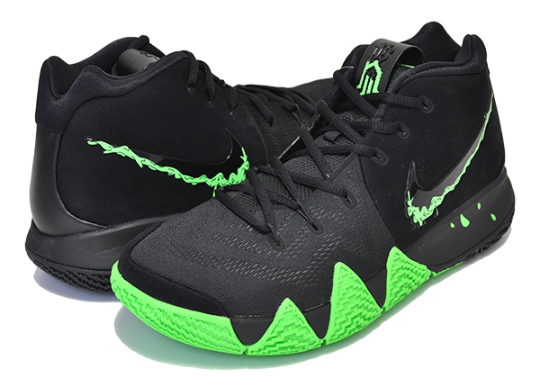 watch d3303 5b8f1 Among published by advantageous discount coupon! NIKE KYRIE 4 black/rage  green