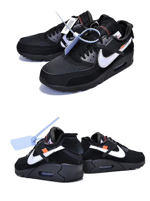 Among published by advantageous discount coupon! It is NIKE AIR MAX 90 OFF WHITE blackblack cone white AA7293 001 the ten ???????? THE 10